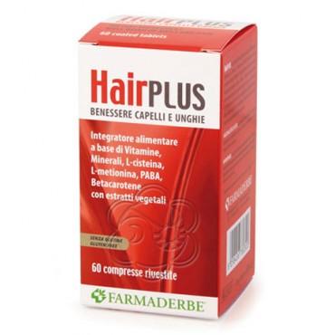 Hair Plus (60 Compresse) Farmaderbe - Benessere Capelli e Unghie