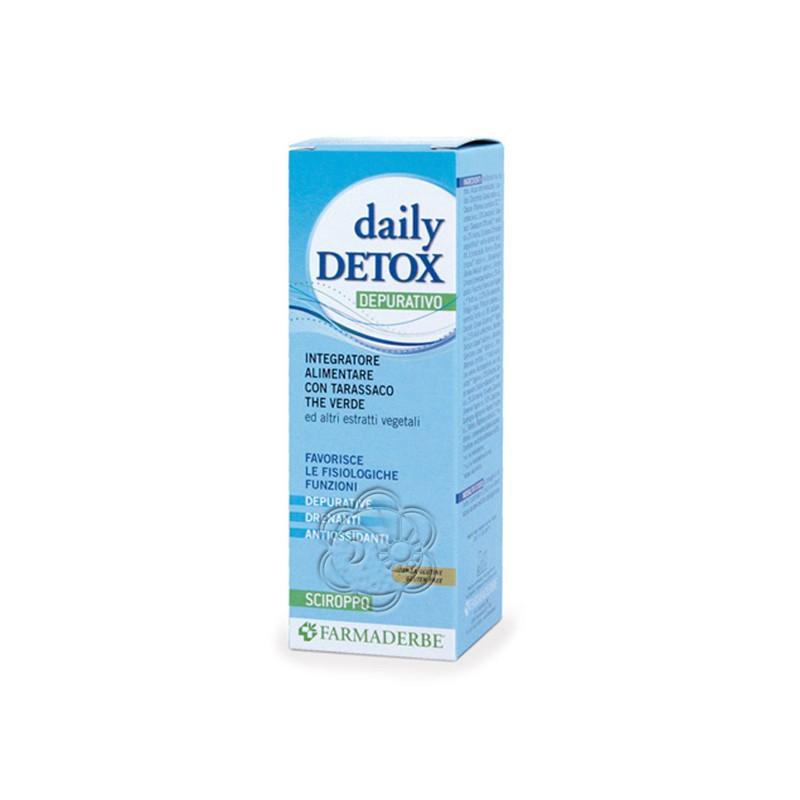 Daily Detox Drenante Depurativo (200 ml) Farmaderbe - Depurativi, Detossinanti