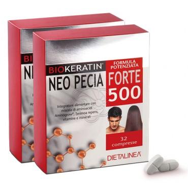 Biokeratin Neo Pecia Forte 500 (64 cpr) Dietalinea - Caduta Capelli