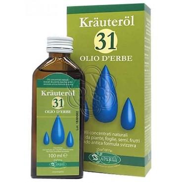 Olio 31 - 31 Krauterol a base di olii essenziali (100 ml) Sangalli - Olio Trentuno