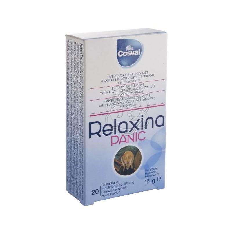Relaxina Panic (20 Tavolette) Cosval - Calmanti