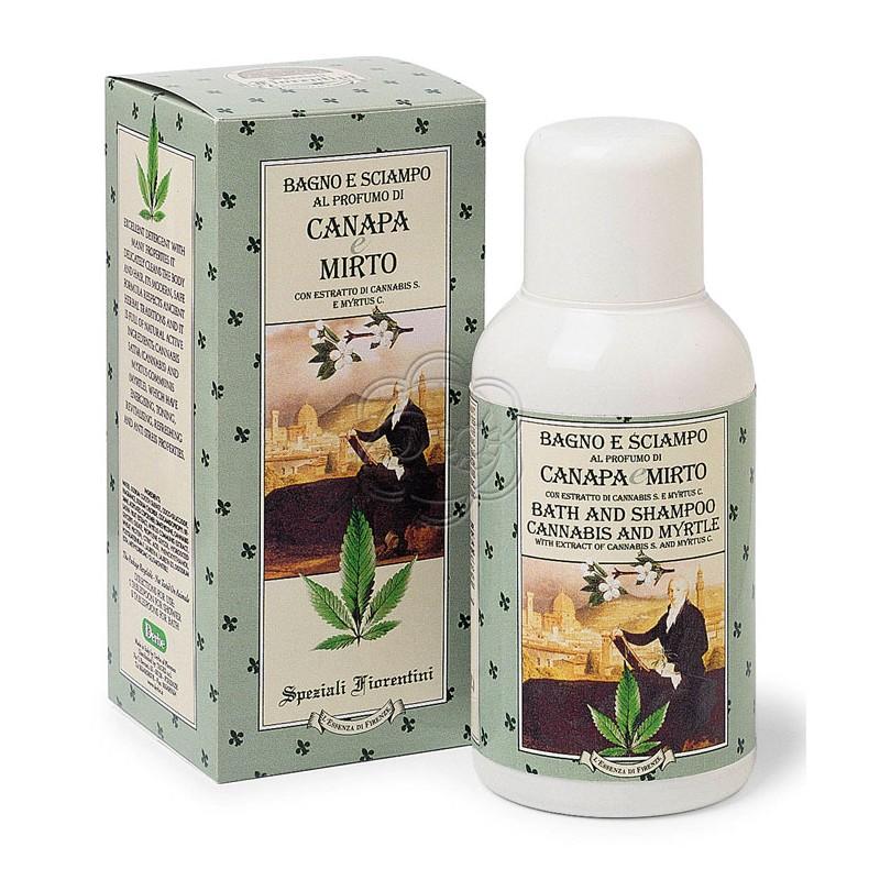 Bagno e Shampoo Canapa e Mirto (250 ml) Derbe Speziali Fiorentini - Regali