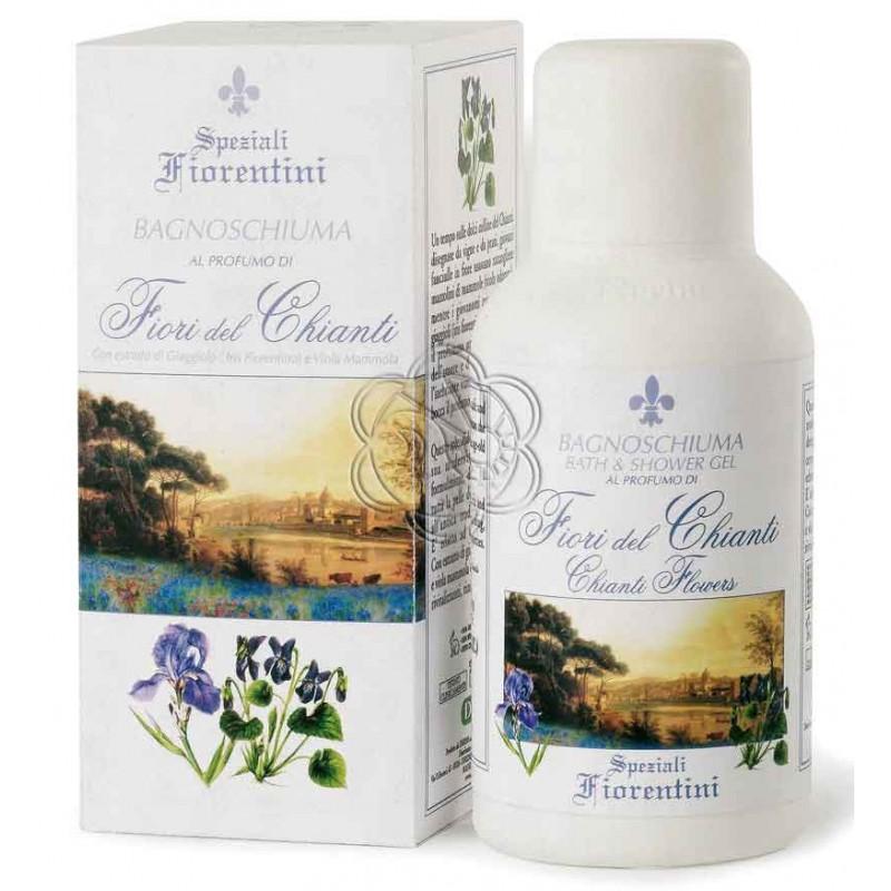 Bagnoschiuma Fiori del Chianti (250 ml) - Derbe Speziali Fiorentini - Regali