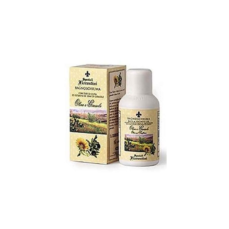 Bagnoschiuma Olivo e Girasole (250 ml) - Derbe Speziali Fiorentini - Regali