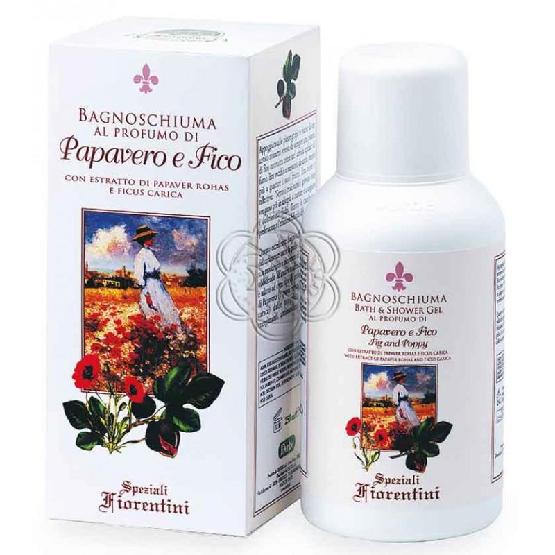 Bagnoschiuma Papavero e Fico (250 ml) Derbe Speziali Fiorentini - Regali