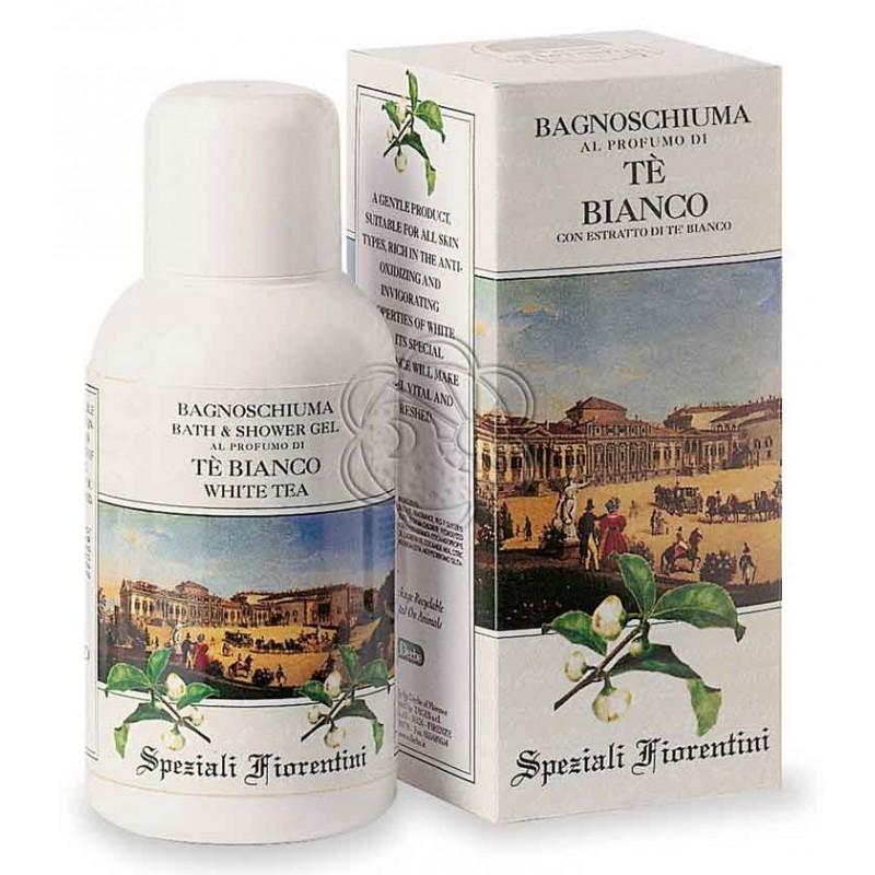 Bagnoschiuma Tè Bianco (250 ml) Derbe Speziali Fiorentini - Regali