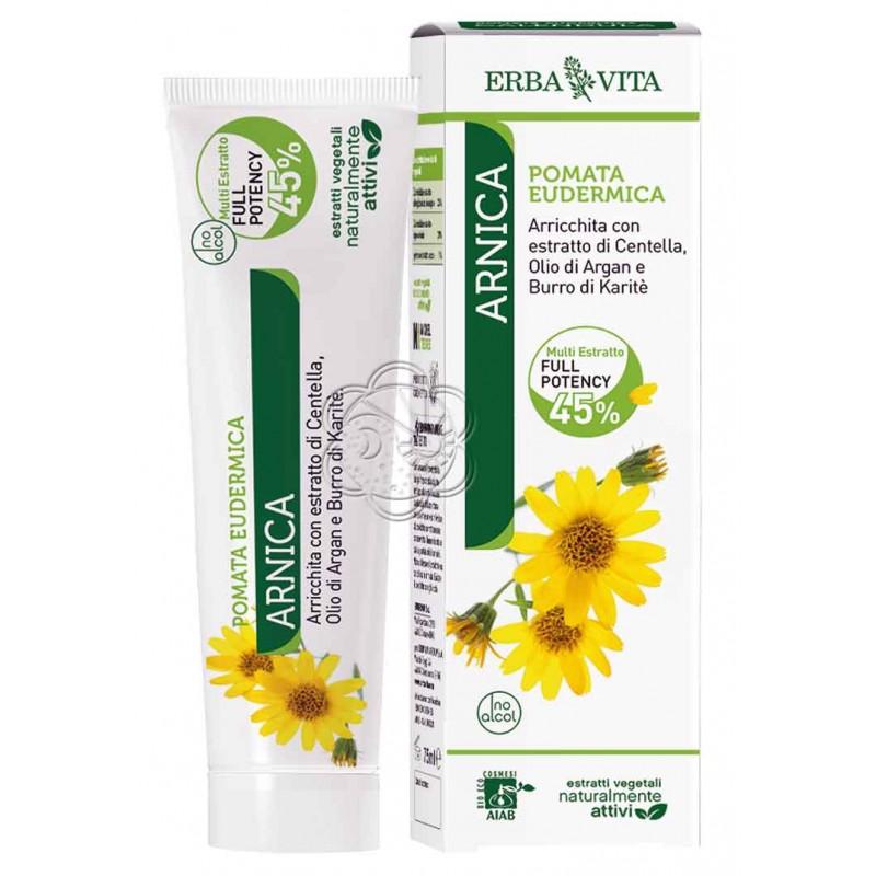 Crema di Arnica al 25% (50 ml) Erba Vita - Ecchimosi