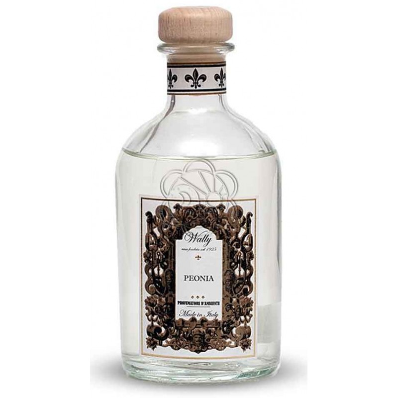Emanatore per Ambienti a Bastoncini Peonia (250 ml) Wally - Diffusori di Profumo