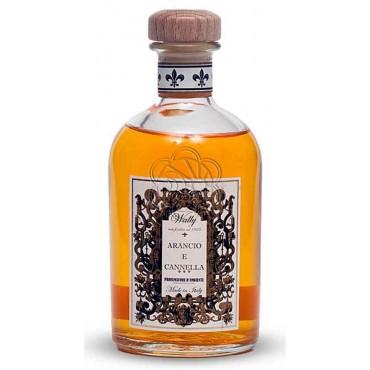 Emanatore per Ambienti a Bastoncini Arancio e Cannella (500 ml) Wally - Diffusori di Profumo