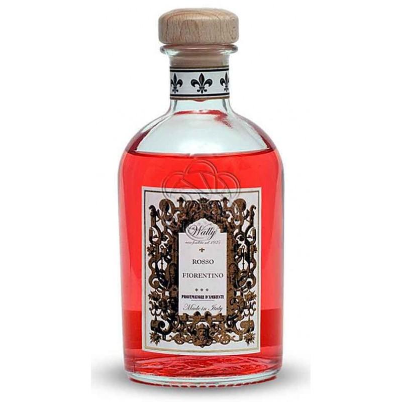 Emanatore per Ambienti a Bastoncini Rosso Fiorentino (500 ml) Wally - Diffusori di Profumo