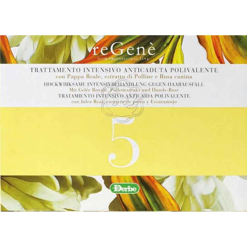 ReGené 5 Lozione Anticaduta Capelli (6 trattamenti) - Derbe Vitanova - Alopecia e Calvizie