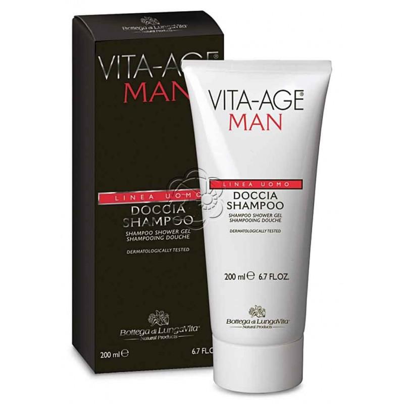 Doccia Shampoo Vita Age Man (200 ml) Bottega di Lungavita - Regali