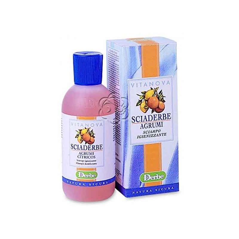 Sciaderbe Agrumi Deodorante (200 ml) Derbe Vitanova - Detergenti Delicati