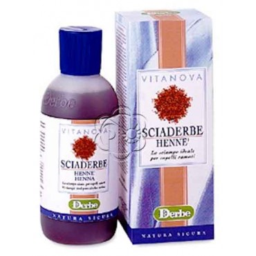Sciaderbe Henné Riflessante (200 ml) - Derbe Vitanova - Detergenti Delicati
