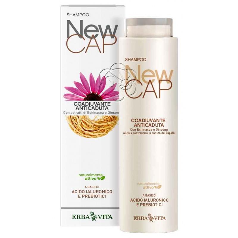 Shampoo Anticaduta NewCAP (200 ml) Erba Vita - Detergenti Delicati