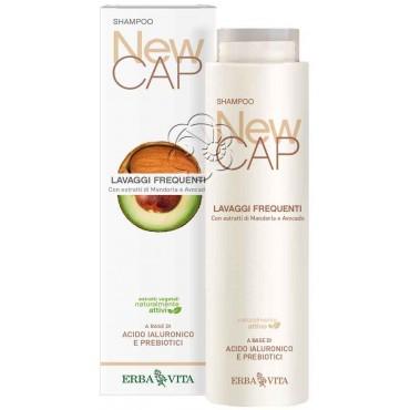 Shampoo Delicato NewCAP (200 ml) Erba Vita - Detergenti Delicati