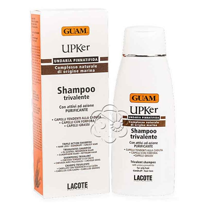 Shampoo Trivalente UPKer (200 ml) Guam Lacote - Caduta dei Capelli