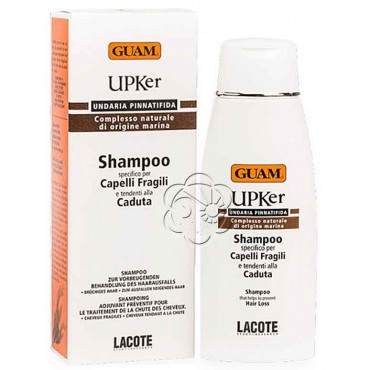 Shampoo Upker Capelli Fragili (200 ml) Guam Lacote - Caduta dei Capelli
