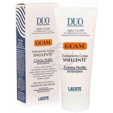 Crema Snellente Notte Duo (200 ml) Guam Lacote - Snellenti