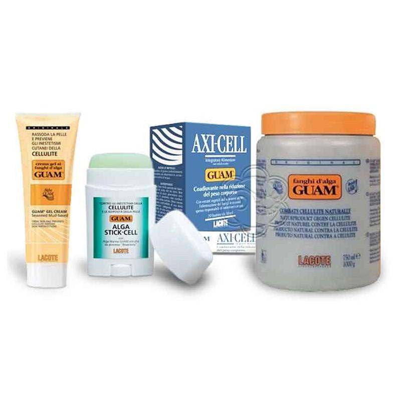 Promozione kit Anticellulite con Fanghi Guam