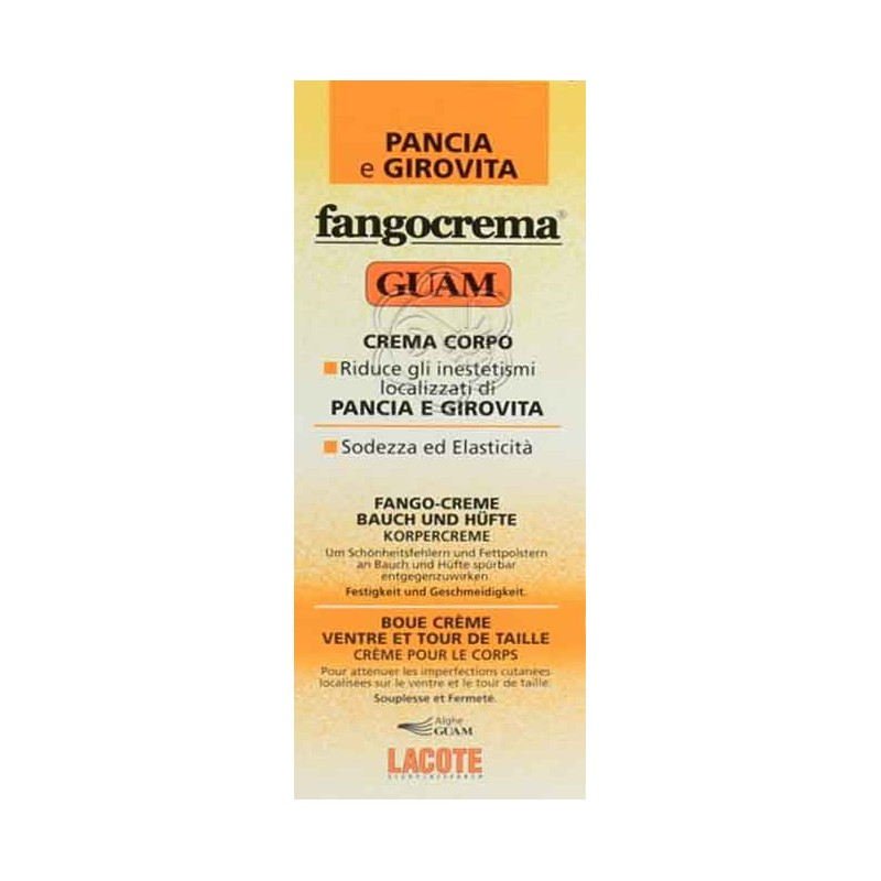 Fangocrema Pancia e Girovita (150 ml) Guam Lacote - Creme Corpo
