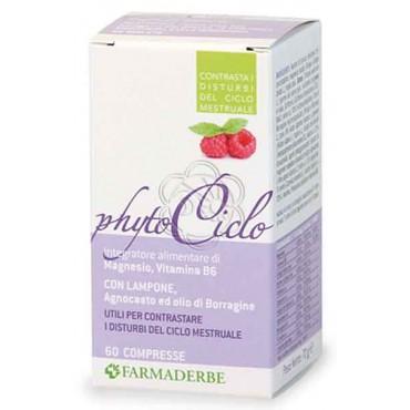 Phyto Ciclo (60 Compresse) Naturaline Farmaderbe - Sindrome Pre Mestruale