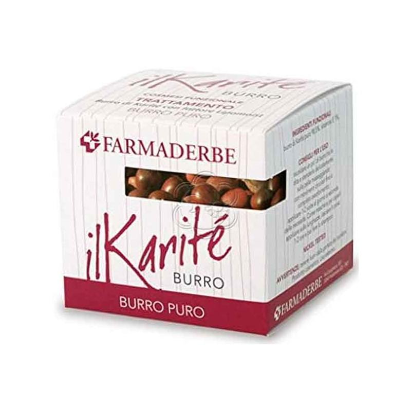Burro di Karitè - Puro Burro (100 ml) Farmaderbe Nutralité - Cosmesi