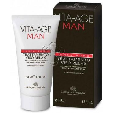 Trattamento Viso Relax Vita Age Uomo (50 ml) Bottega di Lungavita - Cosmetici Uomo