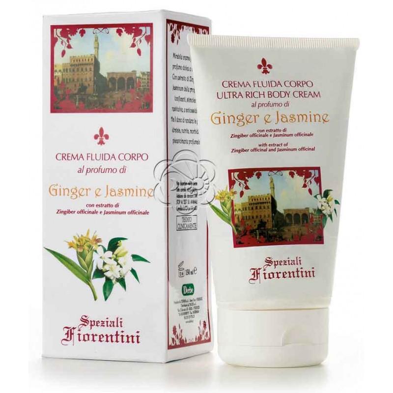 Crema Corpo Ginger e Jasmine (150 ml) Derbe Speziali Fiorentini -Regali