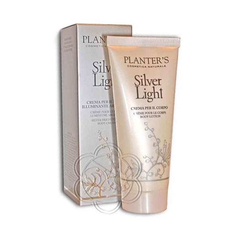 Crema Corpo Illuminante Silver Light (100 ml) Planters - Creme Profumate