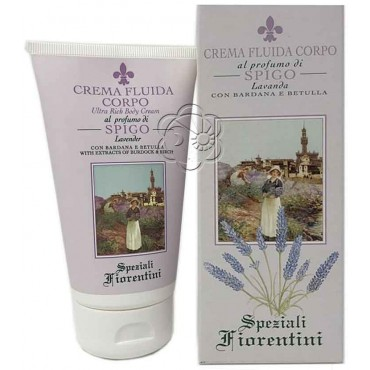 Crema Corpo Lavanda (150 ml) Derbe Speziali Fiorentini - Regali