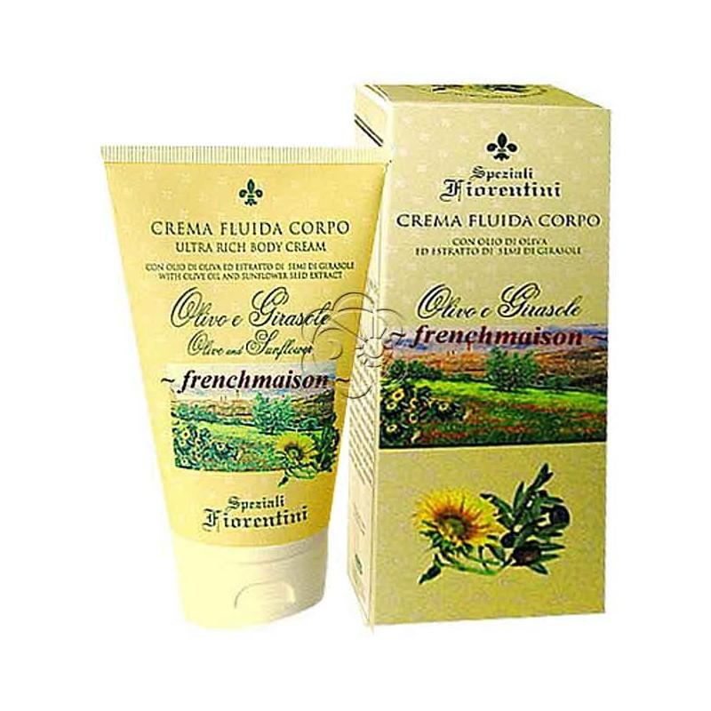 Crema Corpo Olivo e Girasole (150 ml) Derbe Speziali Fiorentini - Regali
