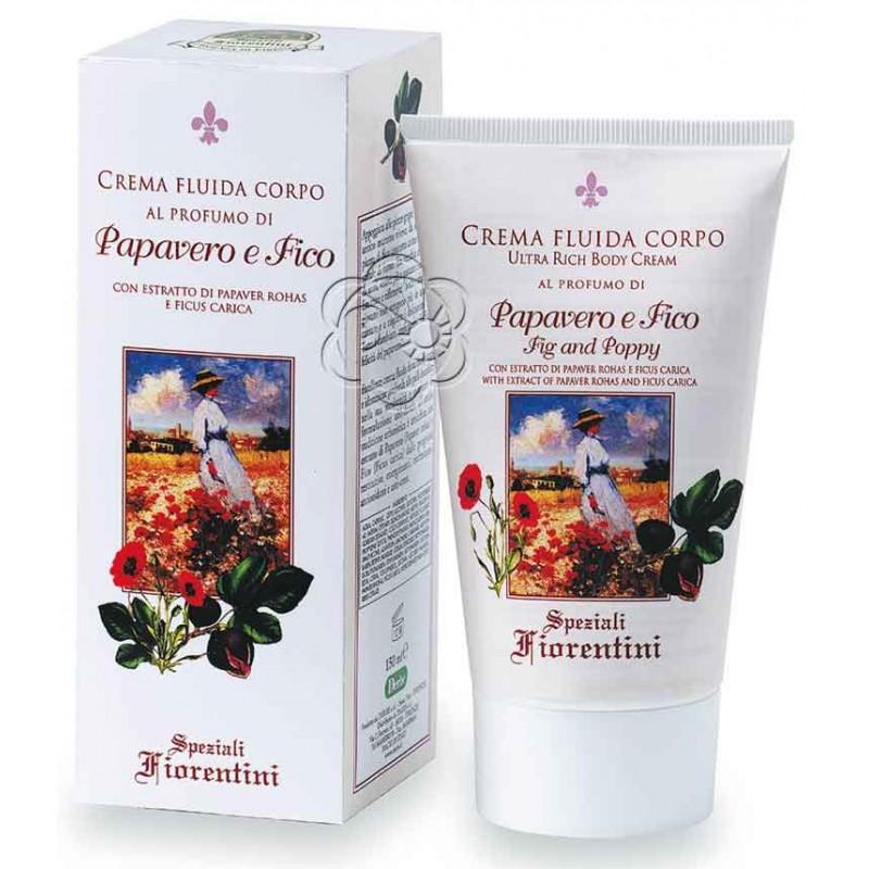 Crema Corpo Papavero e Fico (150 ml) Derbe Speziali Fiorentini - Regali