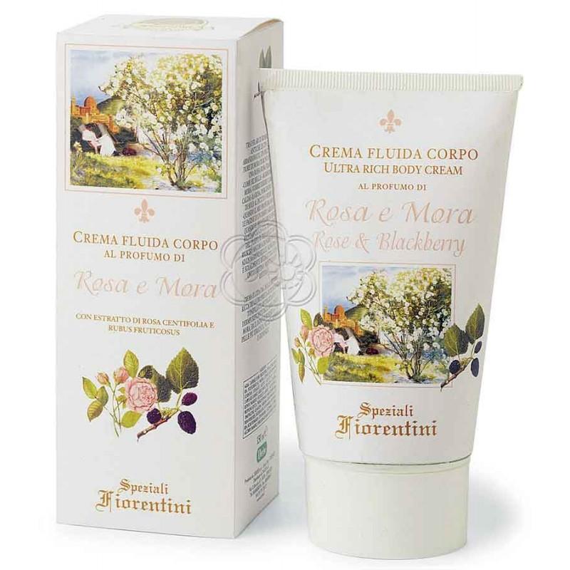 Crema Corpo Rosa e Mora (150 ml) Derbe Speziali Fiorentini - Regali