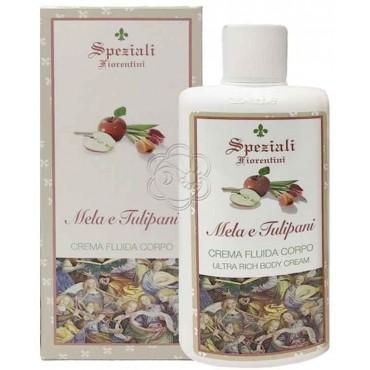 Crema Fluida Corpo Mela e Tulipani (200 ml) Derbe Speziali Fiorentini - Regali