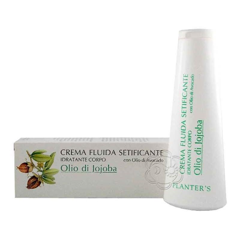 Crema Fluida Setificante Idratante Corpo Olio Jojoba (200 ml) Planters - Creme Corpo Anti Age