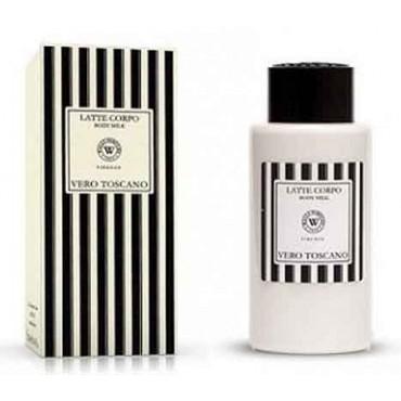 Latte Corpo Vero Toscano Bianco (250 ml) Wally - Regali