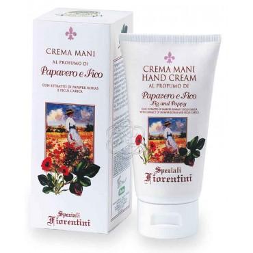 Crema Mani al Profumo di Papavero e Fico (75 ml) - Derbe Speziali Fiorentini - Regali e Natale - Cosmesi