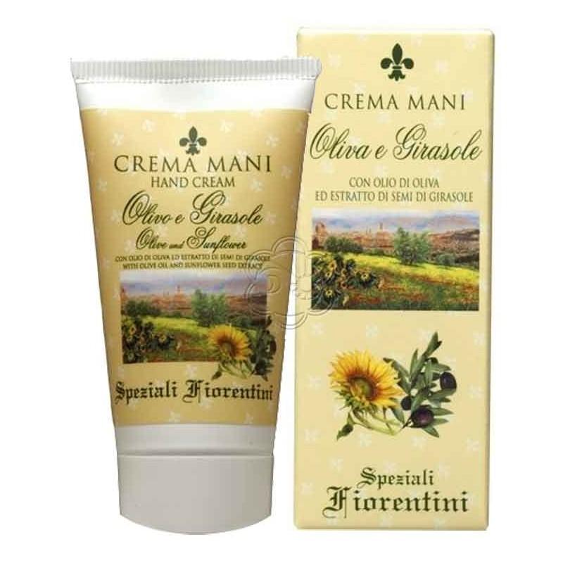 Crema Mani Olivo e Girasole (75 ml) Derbe Speziali Fiorentini - Regali