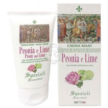 Crema Mani Peonia e Lime (75 ml) Derbe Speziali Fiorentini - Regali