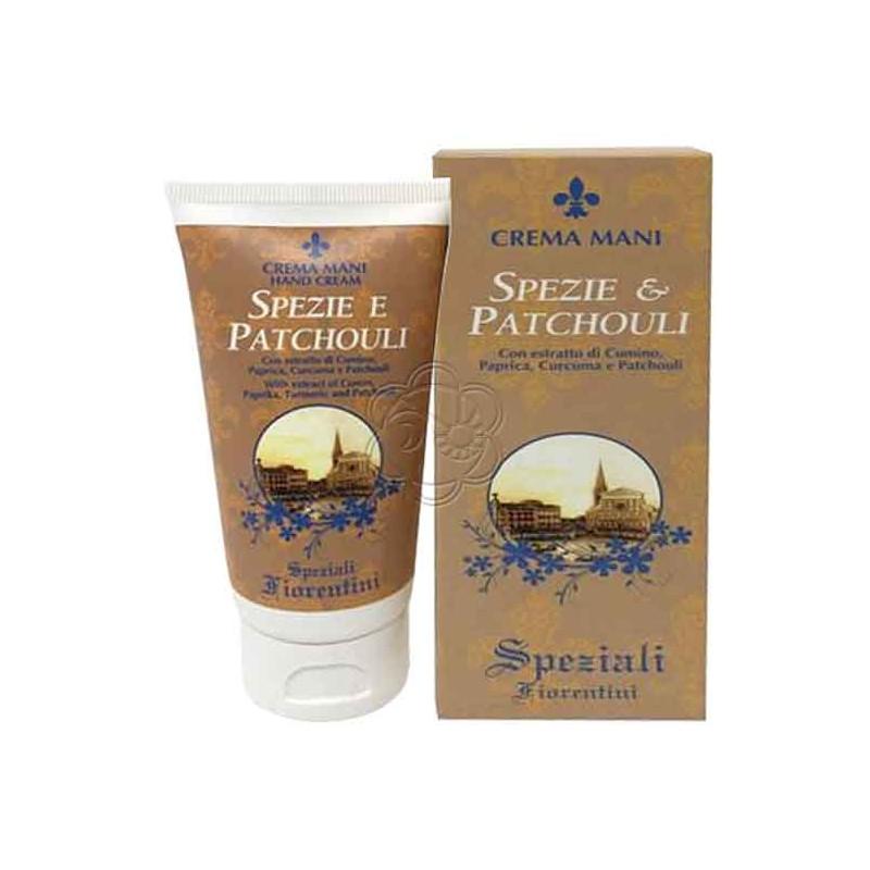 Crema Mani Spezie & Patchouli (75 ml) Derbe Speziali Fiorentini - Regali