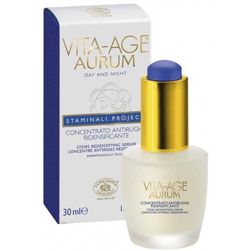 Concentrato Ridensificante Antirughe Vita Age Aurum (30 ml) Bottega di Lungavita - Cosmesi Vegetale
