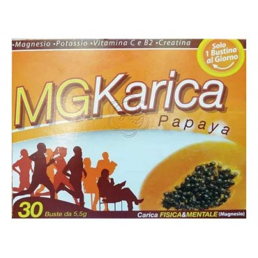 Mg Karica Papaya (10 bustine) Sirc - Vitamine