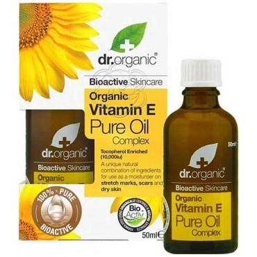 Organic Vitamin E - Pure Oil - Uso Esterno (50 ml) Optima - Vitamina E