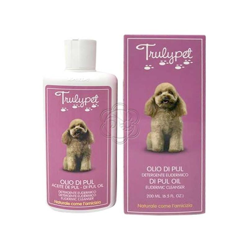 Olio Eudermico di Pul Detergente contro Pulci e Parassiti - Cani e Gatti (200 ml) Derbe Vitanova Trulypet