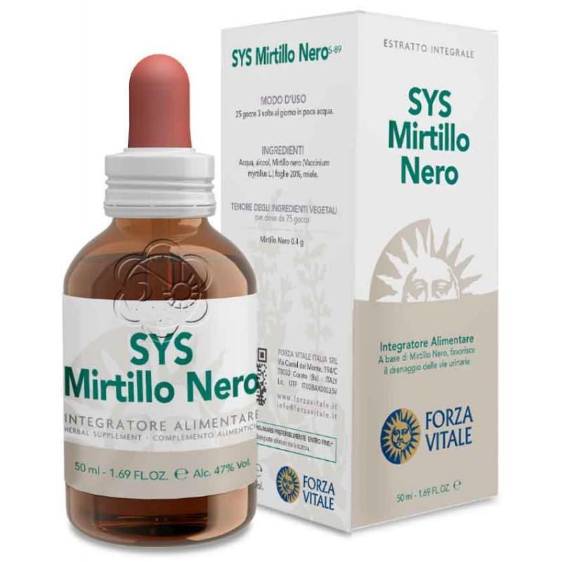 T.M. Mirtillo Nero Bacche (50 ml) - Forza Vitale - Tinture Madri ed Estratti - Vasoprotettori