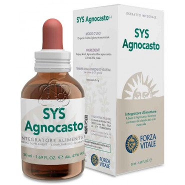 Sys Agnocasto (50 ml) Forza Vitale - Tinture Madri - Mastodinia, Ciclo Mestruale, Menopausa