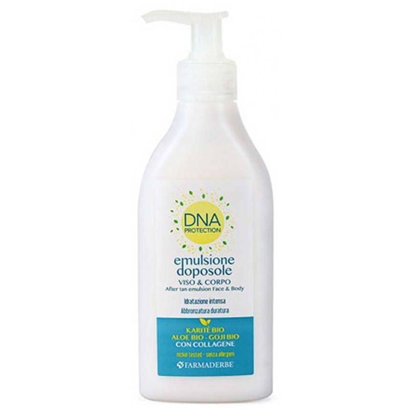 Emulsione Doposole DNA (250 ml) Farmaderbe