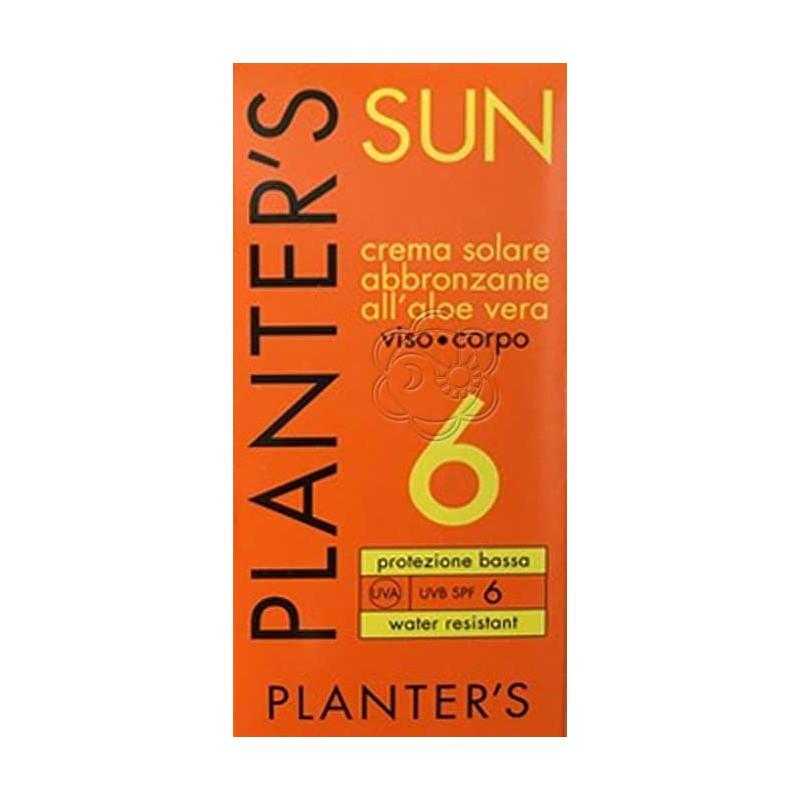 Crema Solare SPF 6 (150 ml) Planters - Abbronzanti