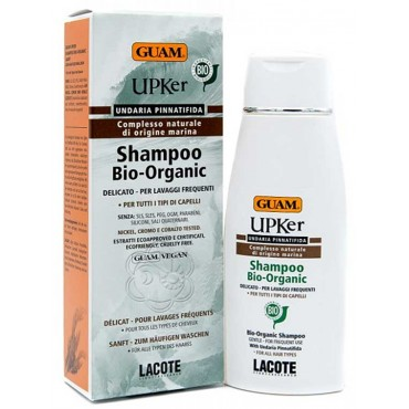 Shampoo Bio Organic Upker (200 ml) Guam Lacote - Detergenti Delicati